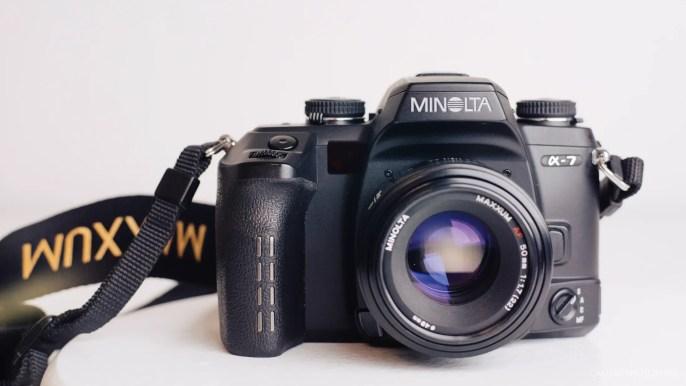 Minolta Alpha Maxxum 7 FIlm Camera Review-1