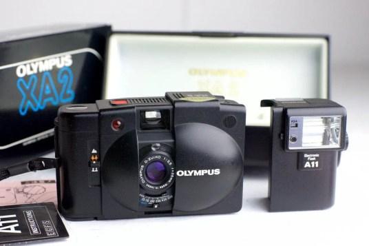 olympus XA2 point and shoot
