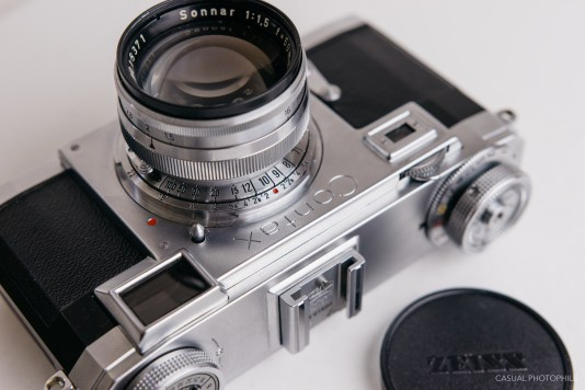 Contax II a product photos review-1