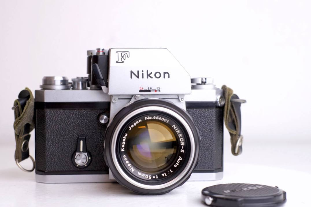 nikon f apollo in silver