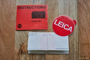 Leica M6 Classic Unboxing-5
