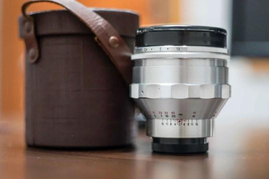 Carl Zeiss Jena Biotar 75mm F:1.5 Series-3