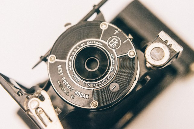 A later model B Vest Pocket Kodak.