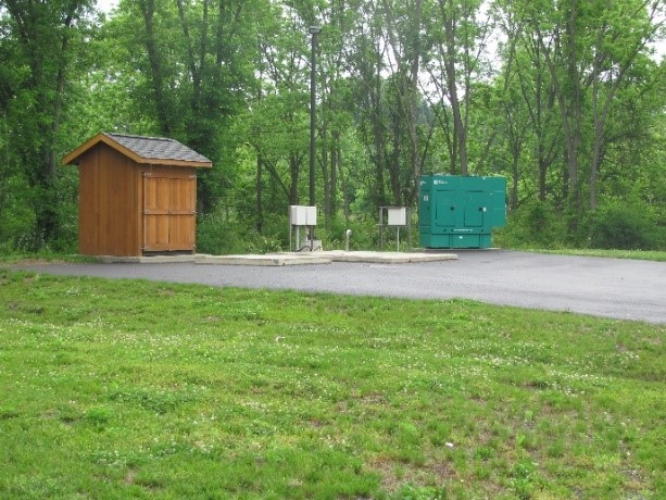 Buckingham Township Pump Station 8 After Construction Photo