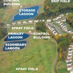 buckingham township furlong wastewater treatment facility annotated aerial overview