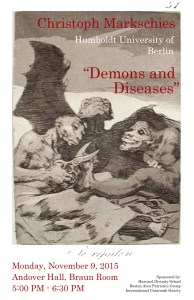 Christoph Markschies_Demons and Diseases_Braun Room_1 (1)