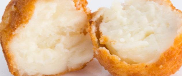 Croqueta de cuatro quesos