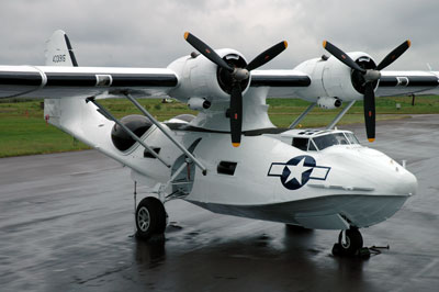 G-PBYA in its superb new colours representing USAAF OA-10A 44-33915. Shown at Edinburgh, June 2005 Photo: David Legg