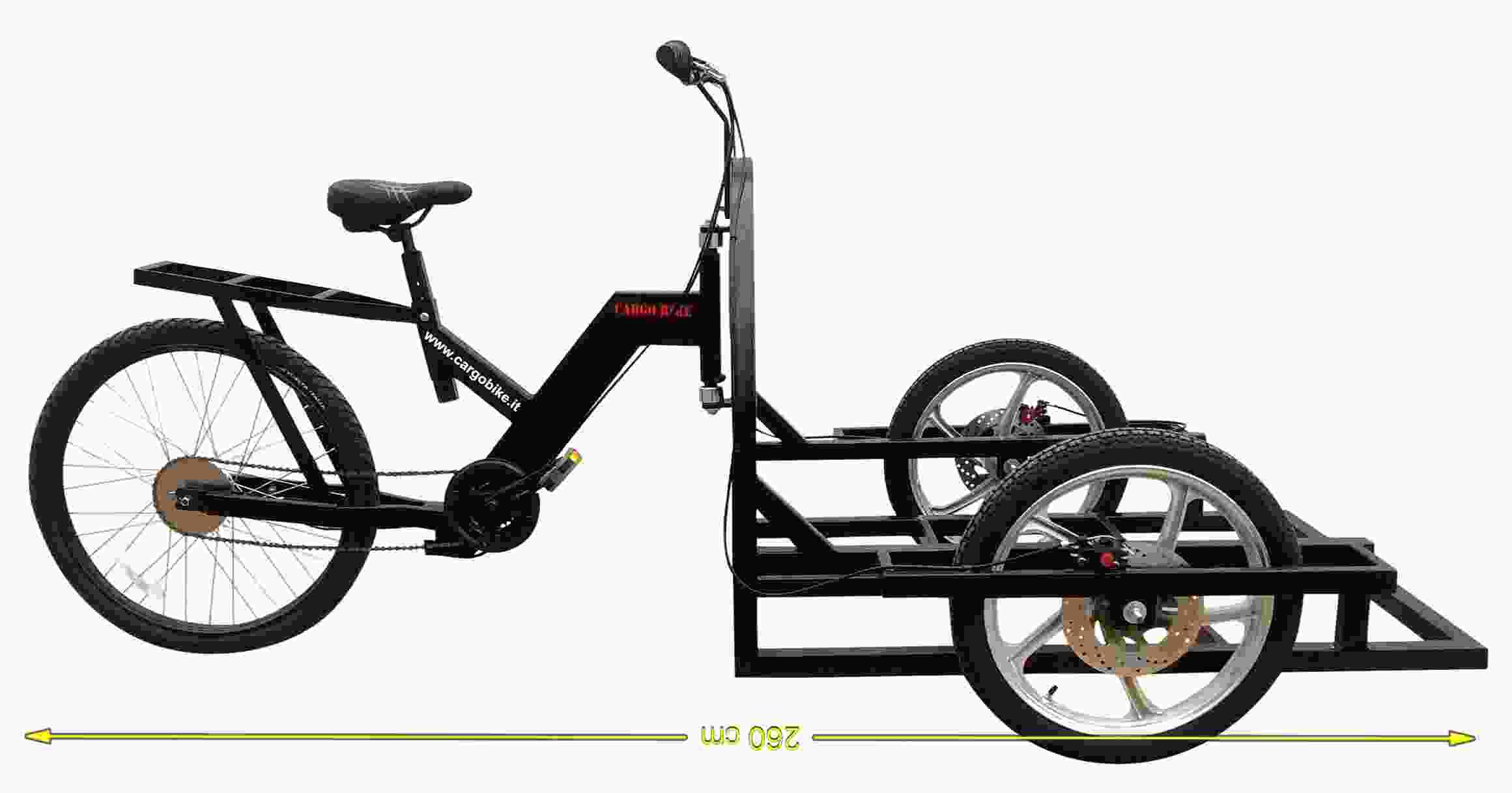Attila Work Tricycle Bike Cargo Heavy Duty To Built Carts