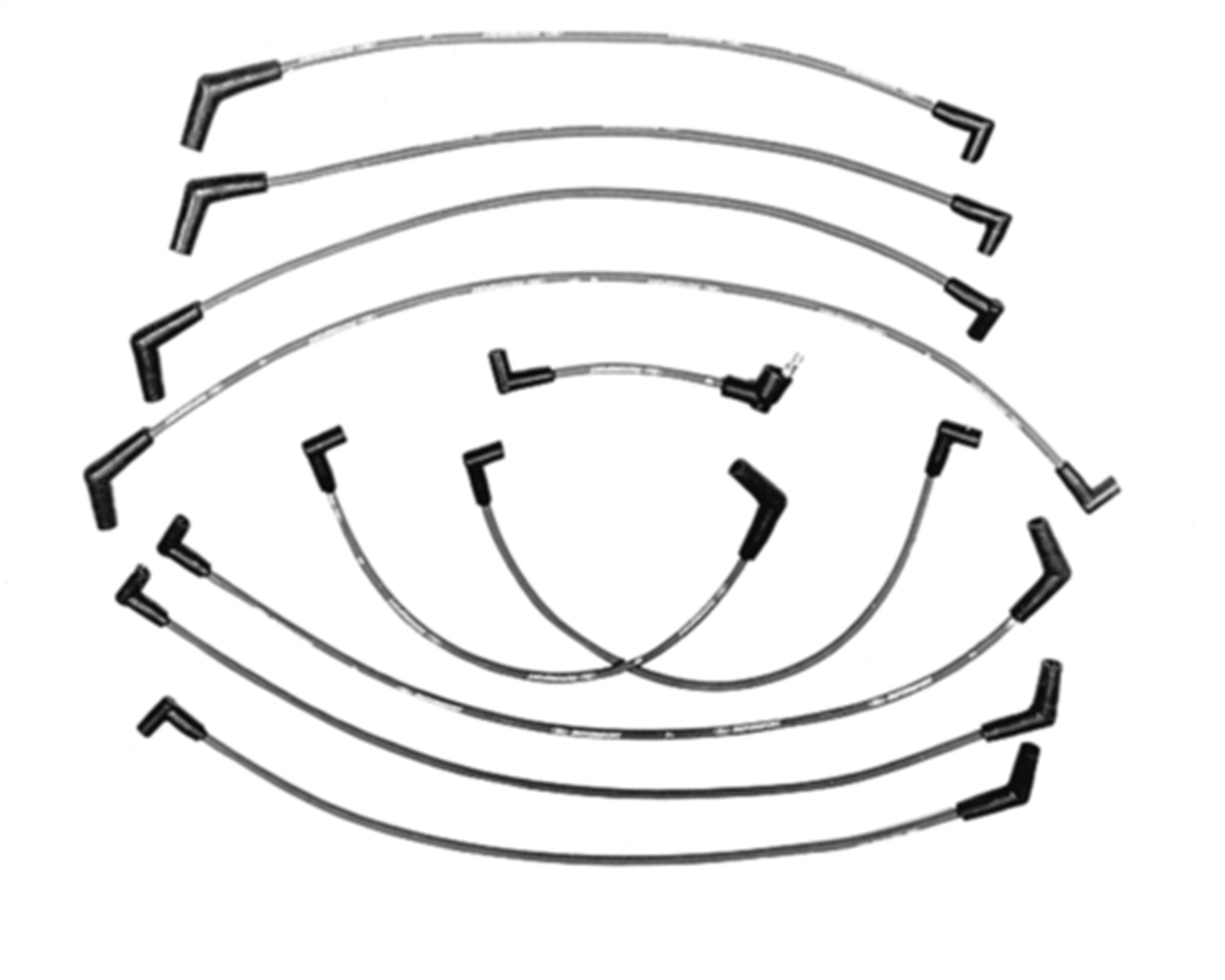 Fits Ford Racing M C301 9mm Ignition Wire Set