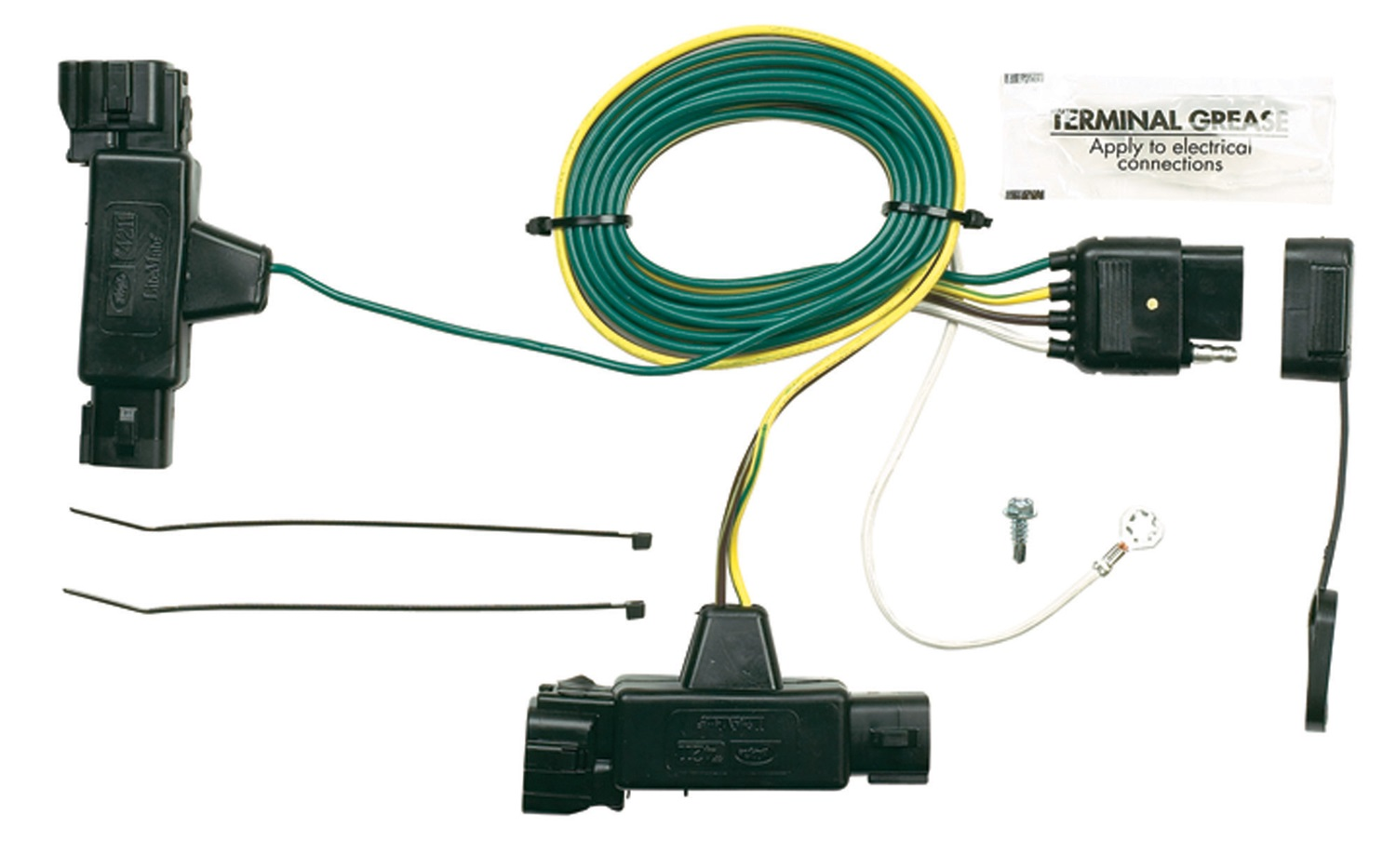 Ford Trailer Tow Wiring Harness Electrical Diagrams Integration Wire Towing Harnesses Genuine Parts Motorhome