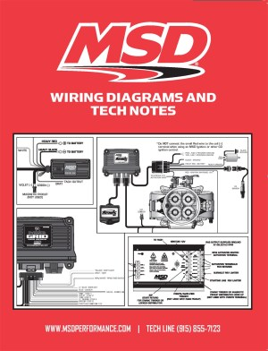 MSD Ignition 9615 Book Wiring DiagramsTech Notes