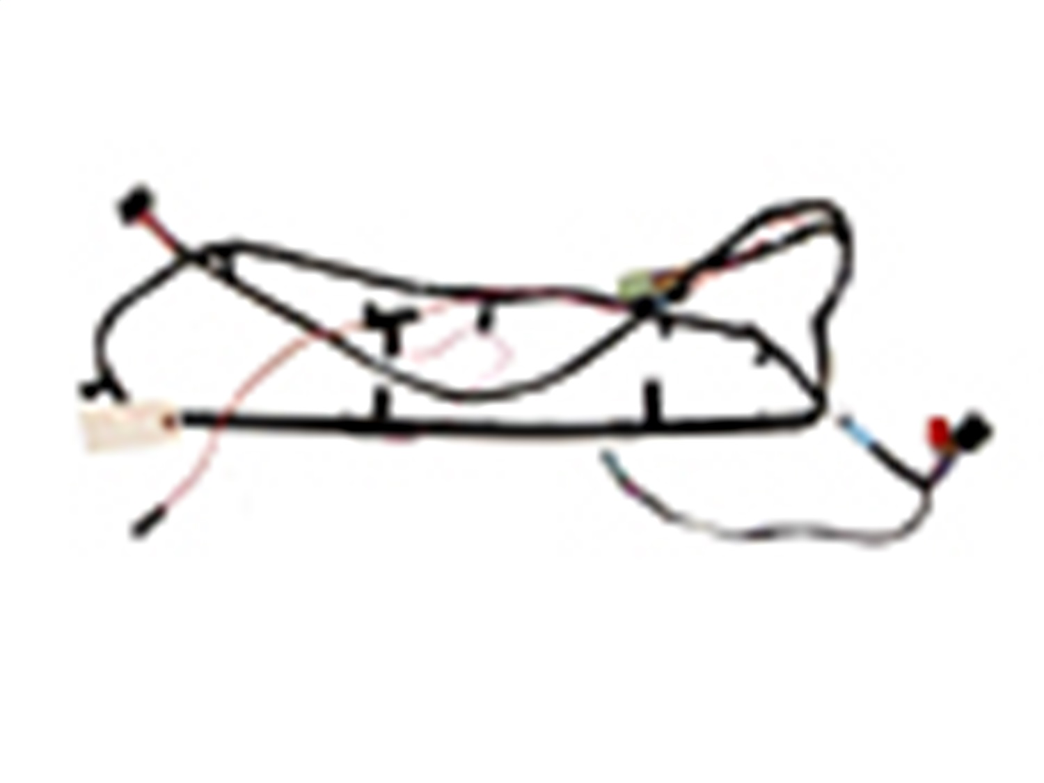 Omix Ada S Overhead Console Wiring Harness Fits