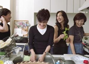 basic cooking skills women in kitchen smiling
