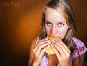 basic cooking skills woman with hamburger