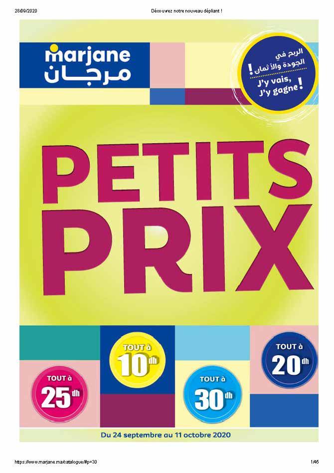 Catalogue Marjane petits prix