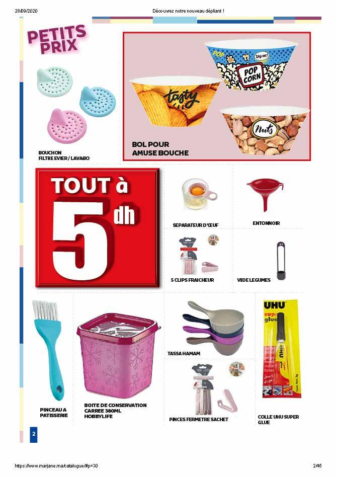 Catalogue Marjane petits prix 1