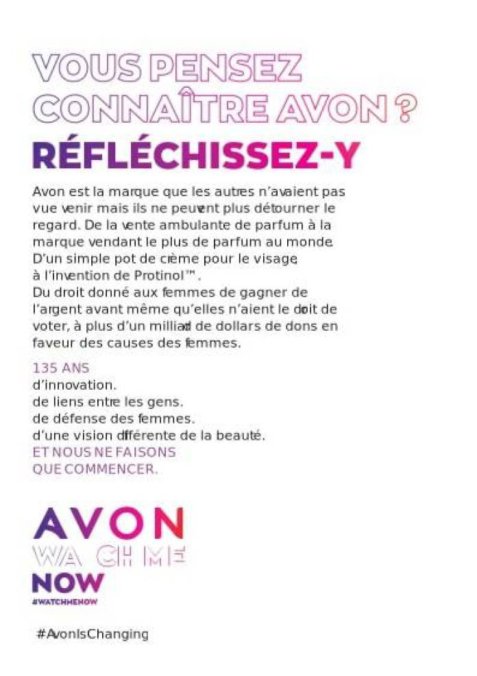 Catalogue AVON octobre 2020 P3