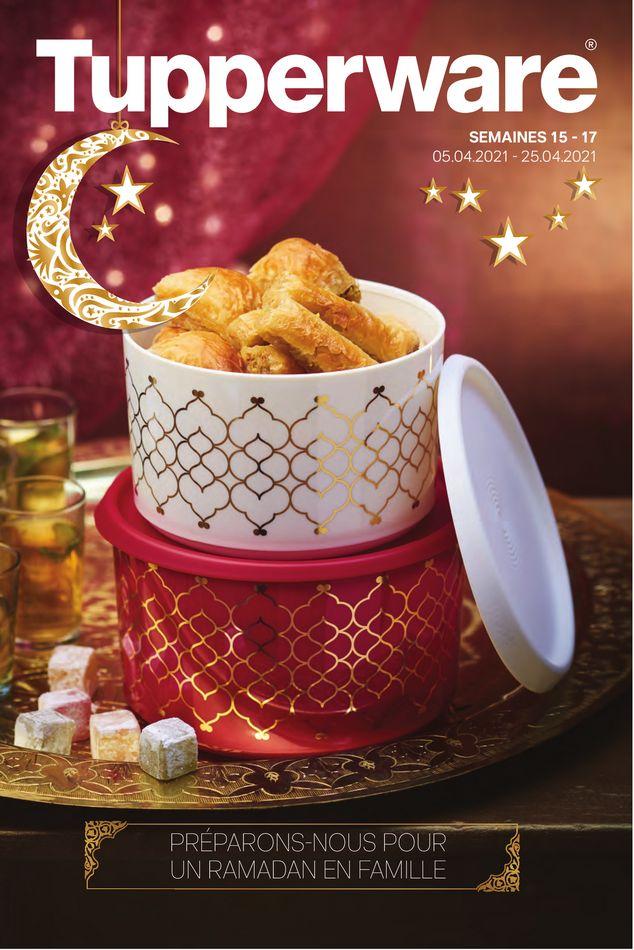 Catalogue TUPPERWARE spécial Ramadan 2021