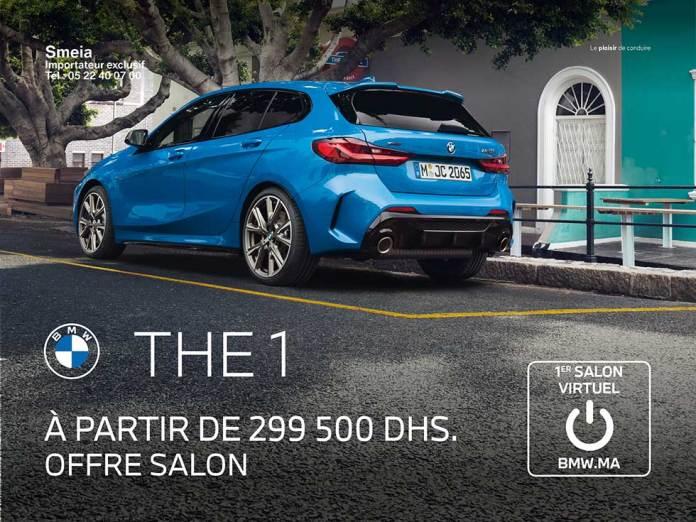 Nouvelle BMW série 1 Maroc