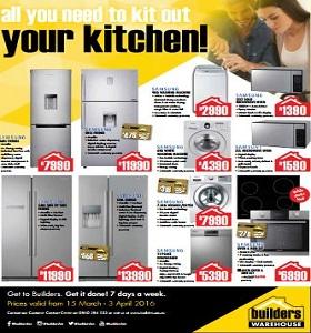 Builders Warehouse Appliances Catalogue 15 March 3 April