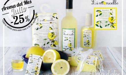 """Limoncello"": aroma del mes de Boles d'Olor con 25% de descuento."