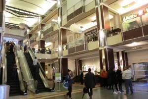 学校前のWorld Exchange Centre