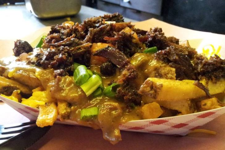 Bonehead's BBQ Burnt End Poutine