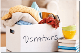 Booking quickbooks in-kind donations