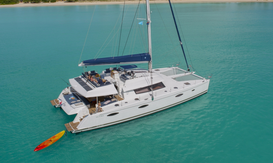 Catamaran Yacht Victoria 67 Fountaine Pajot