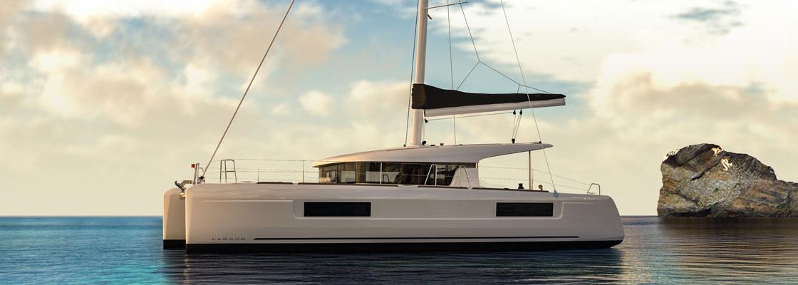 New Sail Catamaran For Sale Lagoon 40 40ft