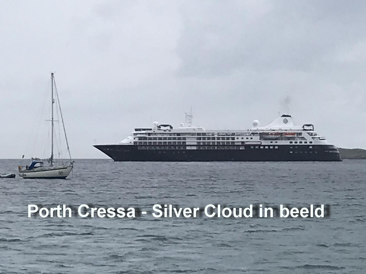 Porth Cressa - Silver Cloud