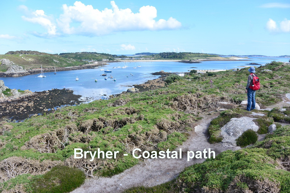 Tresco - Coastal path