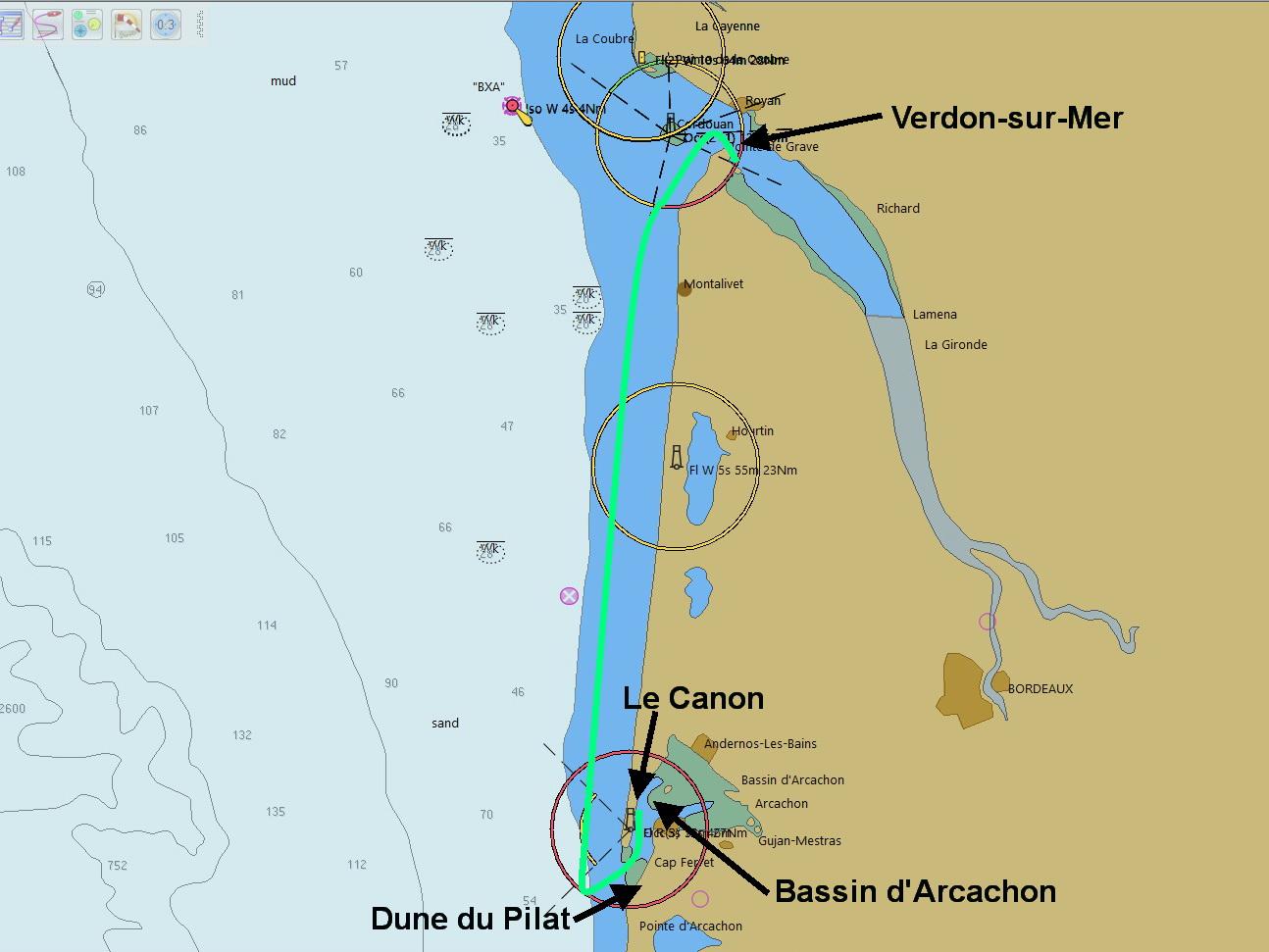 Van VerdonSurMer naar BassinD'Arcachon