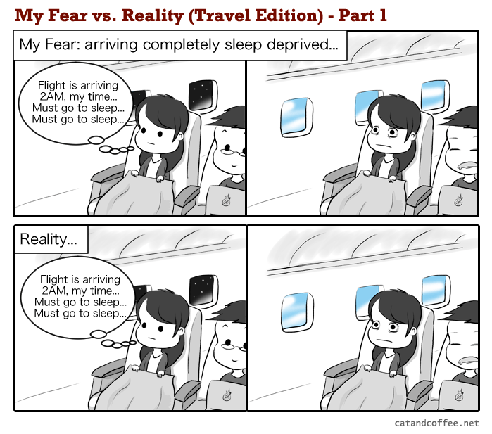 My Fear vs. Reality Part 1/3