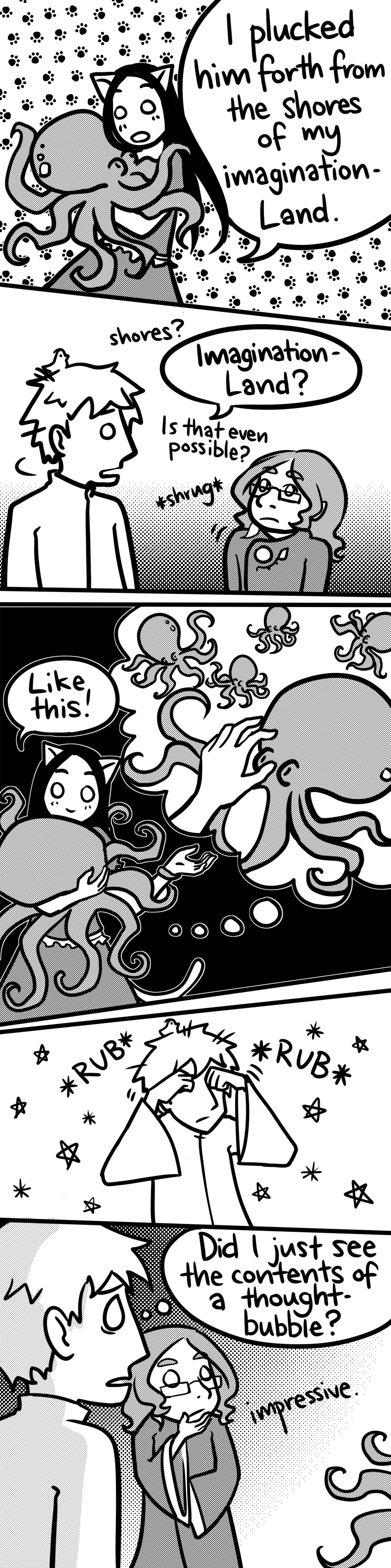 What fun in octopus mind-land