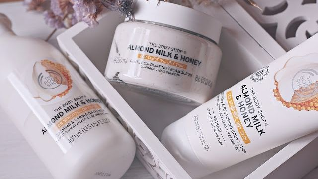 ALMOND MILK & HONEY – The Body Shop Skincare