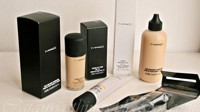 Guía Bases de Maquillaje de MAC