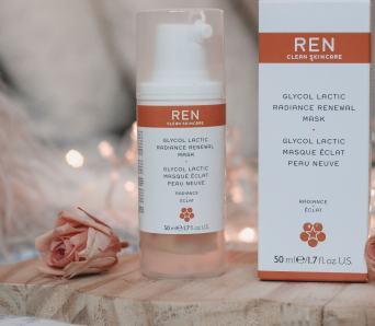 ren skincare glycolic mask