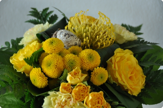 Smuk og gul