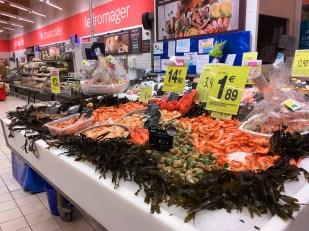 ~Masser af fisk og skaldyr