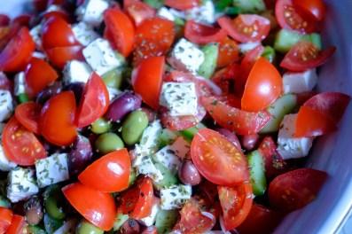 Skøn tomatsalat