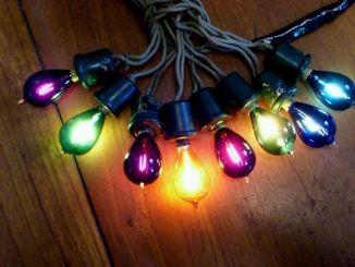 Edison Christmas Lights Image