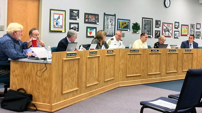 CCS Board Meeting| John Bailey/Hickory Daily Record