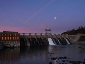 Oxford Dam   Larry C. Price Photo