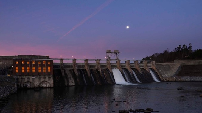Oxford Dam | Larry C. Price Photo