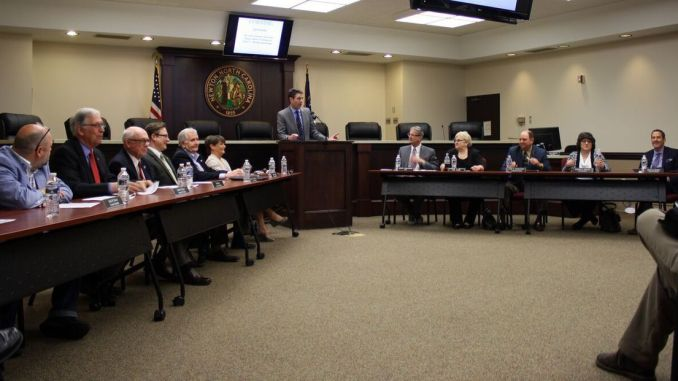 Corning Commissioners Meeting Photos
