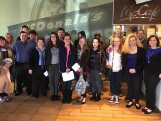 CVCC Class McDonalds Study Trip-2016