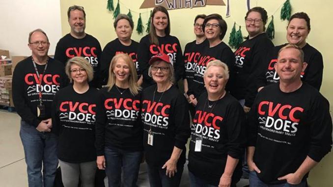 CVCC Employees Volunteer