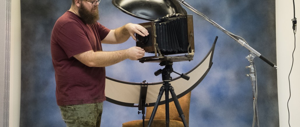 Joshua White - CVCC Tintype Instructor